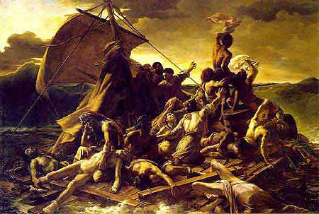 Raft of the Medusa, Gericault