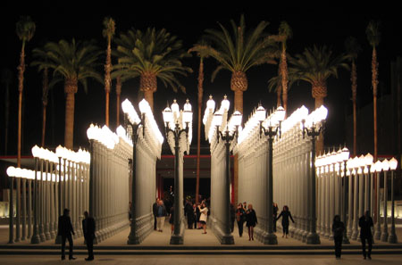 Urban Light Chris Burden Bcam Lacma Art Perception